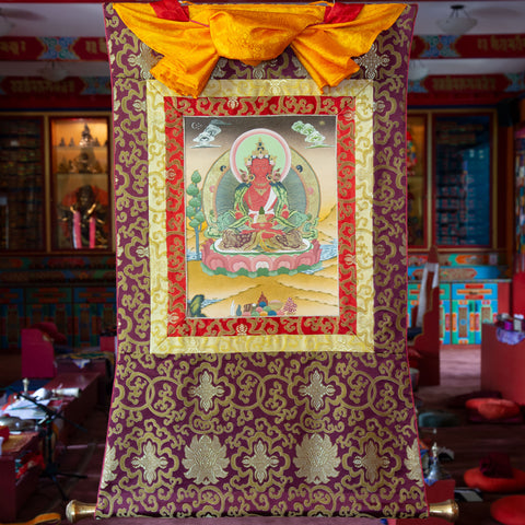 Amitayus Thangka - Small