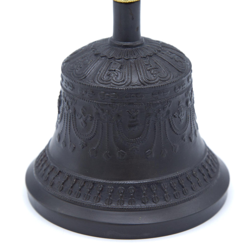 Five-pronged Antiqued Bell and Dorje - Standard