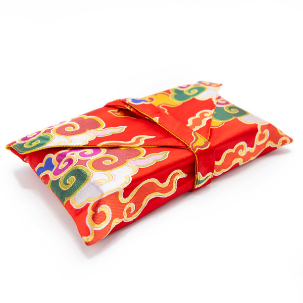 Book Envelope - Red, Blue or Orange Clouds