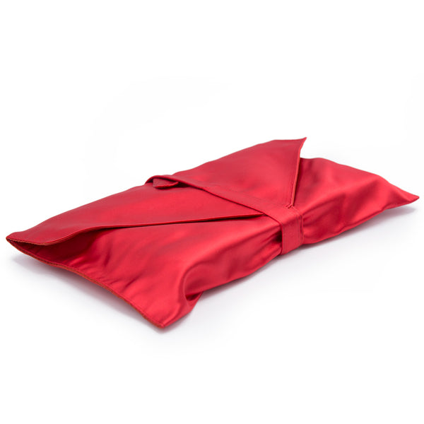 Red Satin Book Envelope