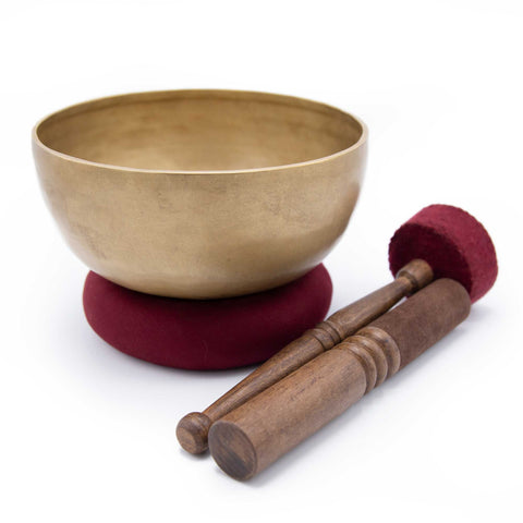 Bronze Singing Bowl - 8.5""
