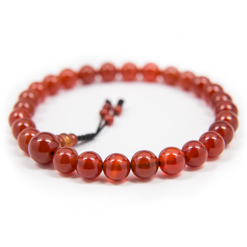 Carnelian Pocket - 8mm