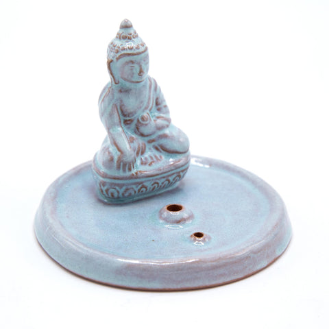 Celadon Buddha Incense Burner