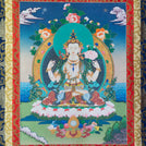 Chenrezig Thangka - Medium 2