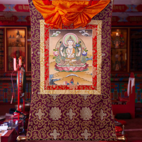 Chenrezig Thangka - Small 4