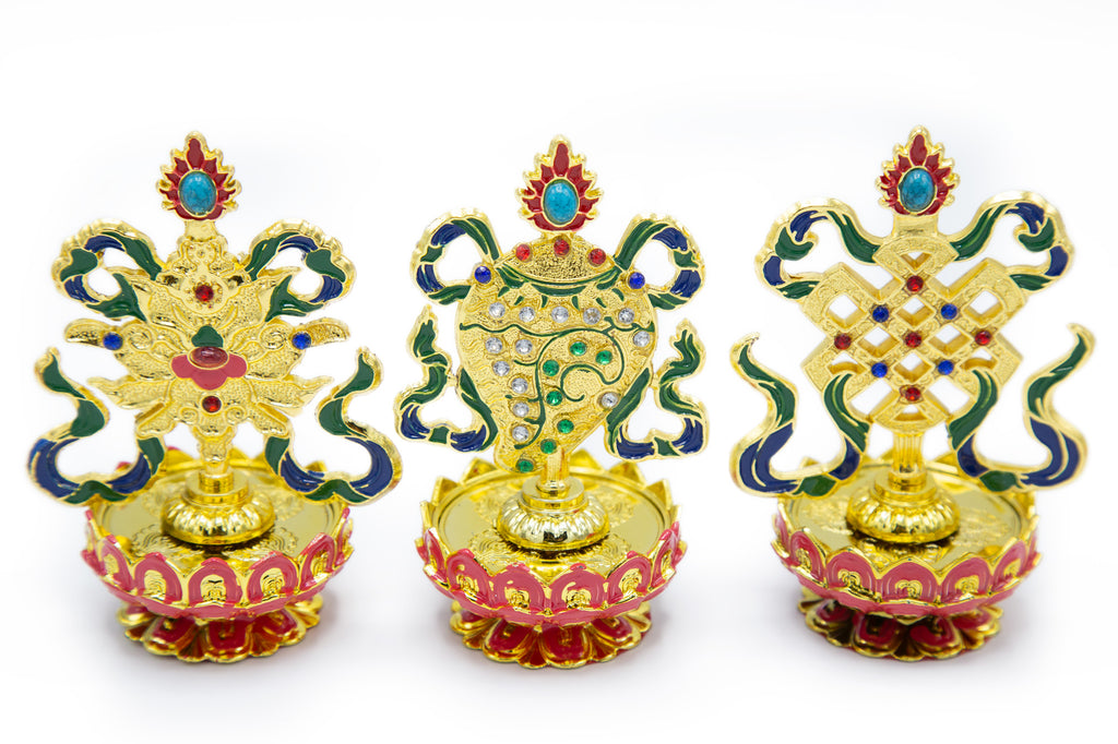 Colorful Auspicious Symbol Set