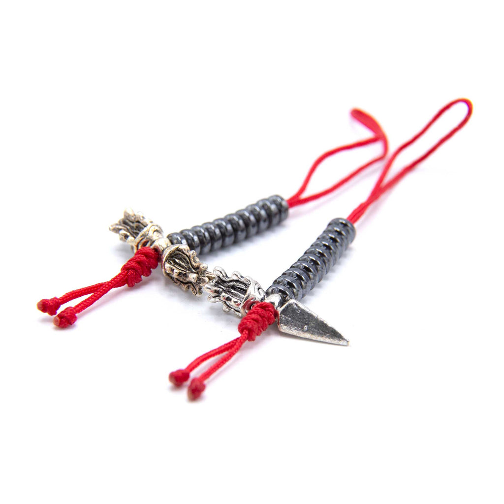 Counter - Vajra and Phurba - Red or Black Cord