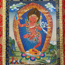 Dorje Phagmo Thangka - Medium