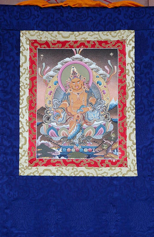 Dzambhala Thangka - Small