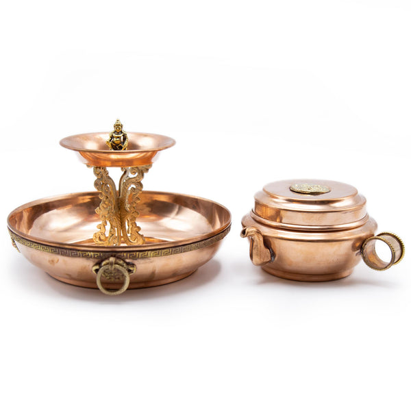 Dzambala Offering Set - 7.5 inch
