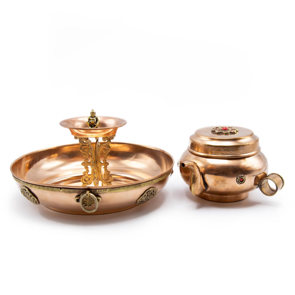 Dzambala Offering Set - 9.5 inch