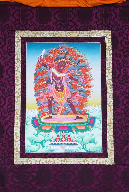 Ekadzati Thangka - Medium