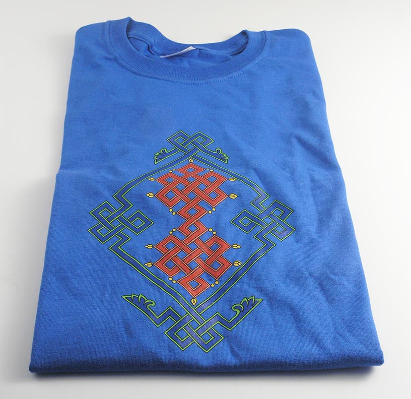 Endless Knot Royal Blue T-Shirt