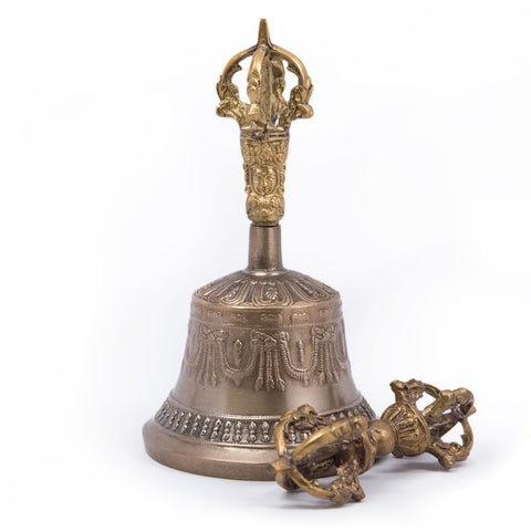 Five-Pronged Bell and Dorje - Standard