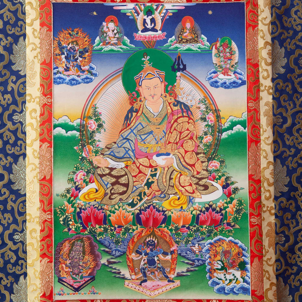 Guru Rinpoche Thangka - Medium 3