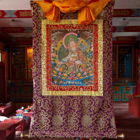 Guru Rinpoche Thangka - Small 1