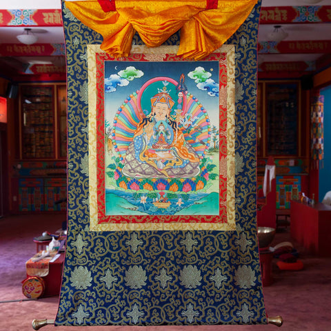 Guru Rinpoche Trikaya Thangka - Medium