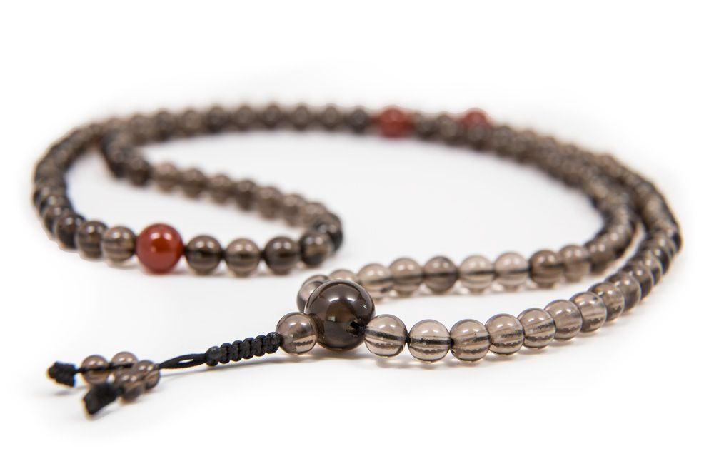 Smoky Quartz Mala - 6mm