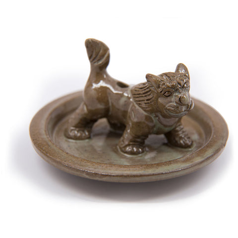 Snow Lion Incense Burner