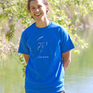 Keep Going Royal Blue T-Shirt
