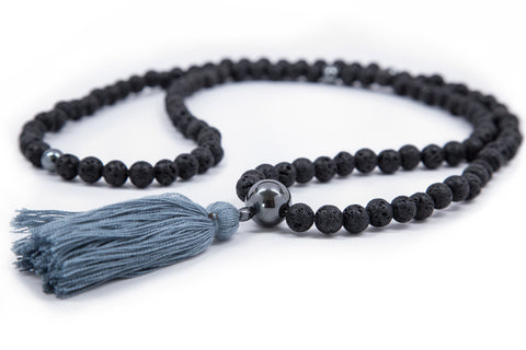 Lava Rock Mala - 8mm