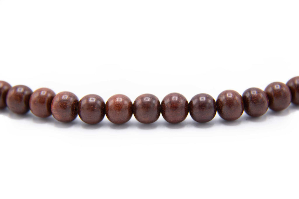 Light Rosewood Mala -8mm