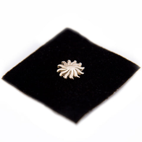 14K Gold Sunburst Mandala Offering
