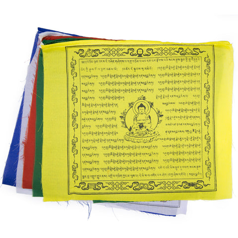 Medicine Buddha Prayer Flag - Set