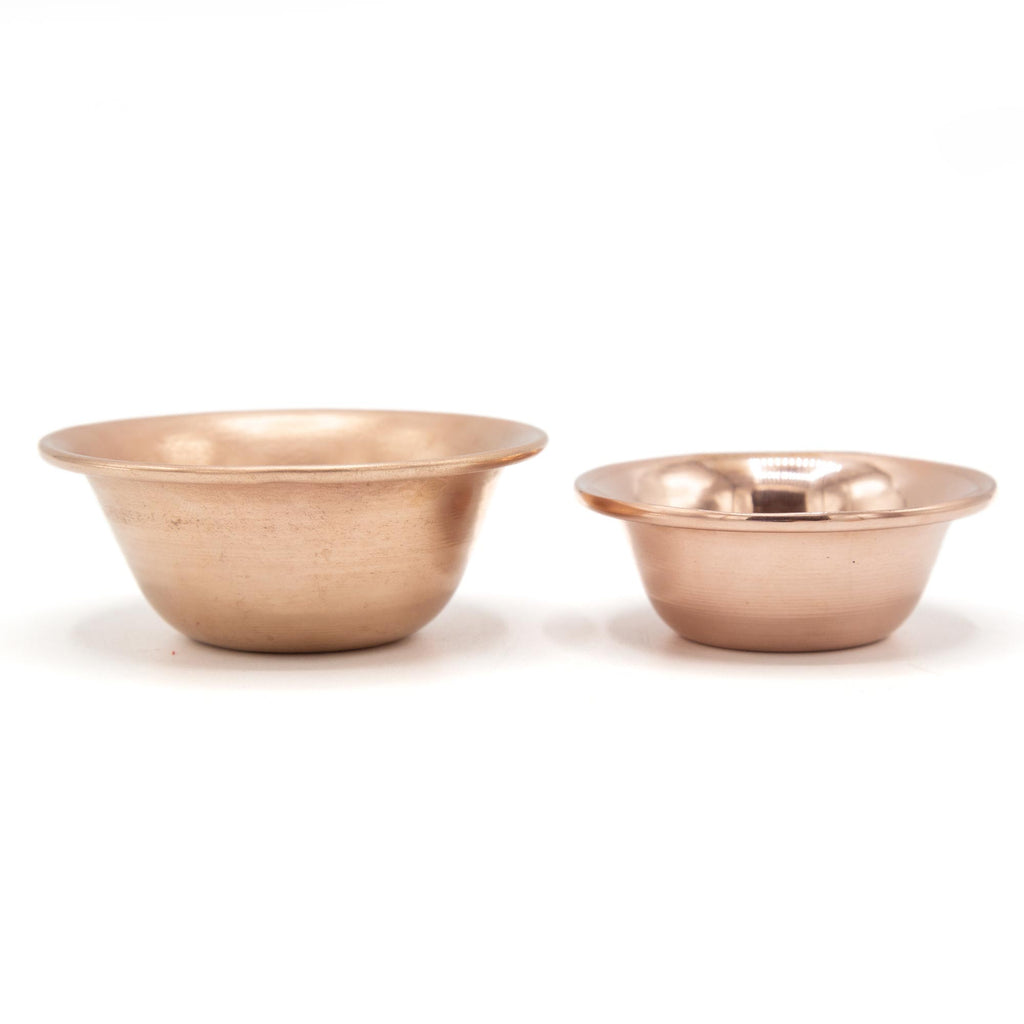 Plain Copper Offering Bowls