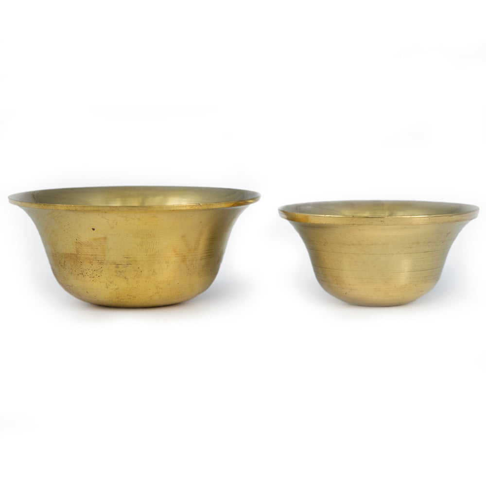 Plain Brass Offering Bowls