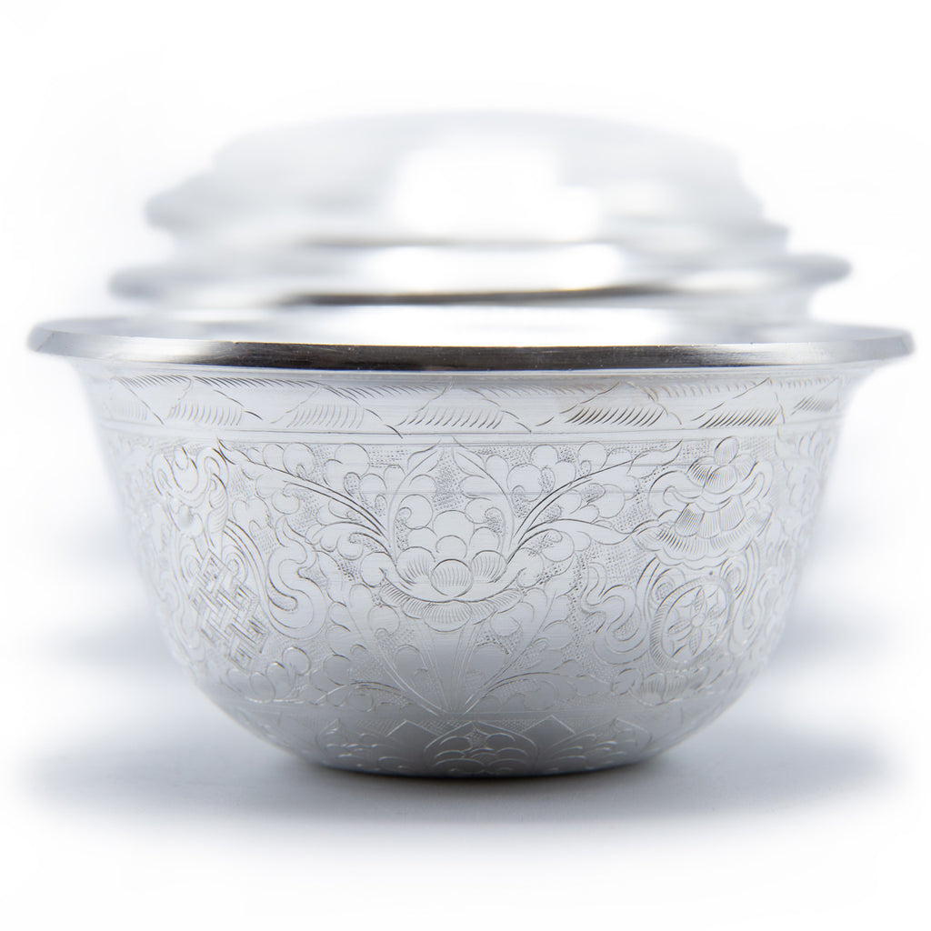 Pure Silver Offering Bowls - 4 inch