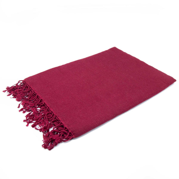 Red Pashmina Zen - Medium