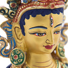 Red Tara Painted Statue - 9 inch - #4