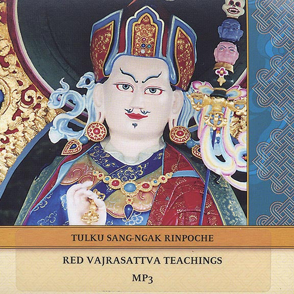 Red Vajrasattva Teachings CD