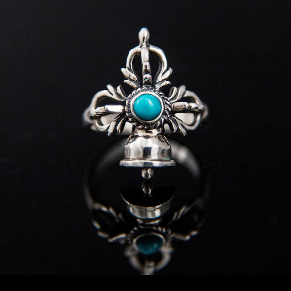 Bell and Dorje with Turquoise Ring