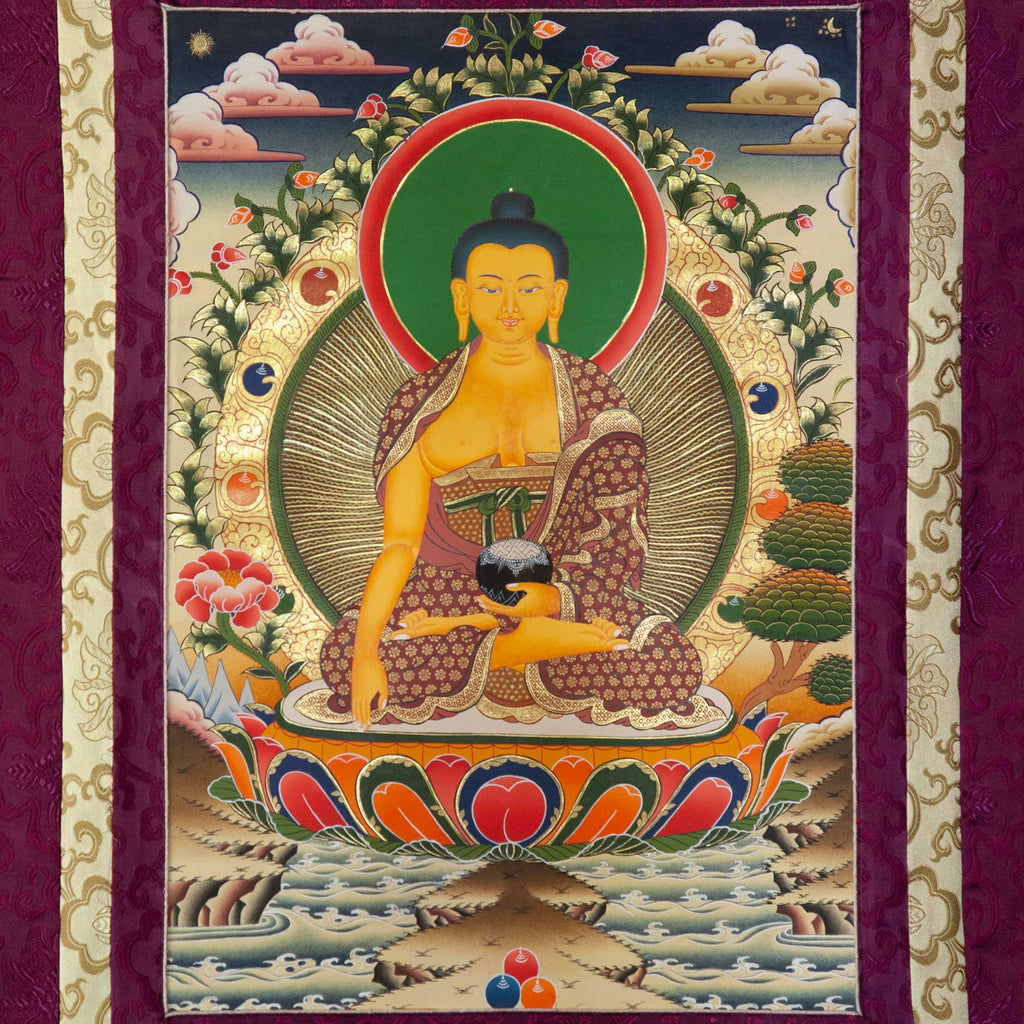 Shakyamuni Thangka - Medium 2