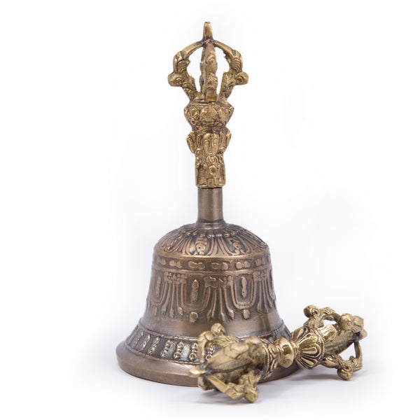 Five-Pronged Bell and Dorje - Mini