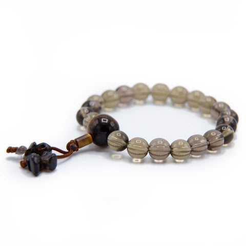 Smokey Quartz Wrist Mala - 8mm