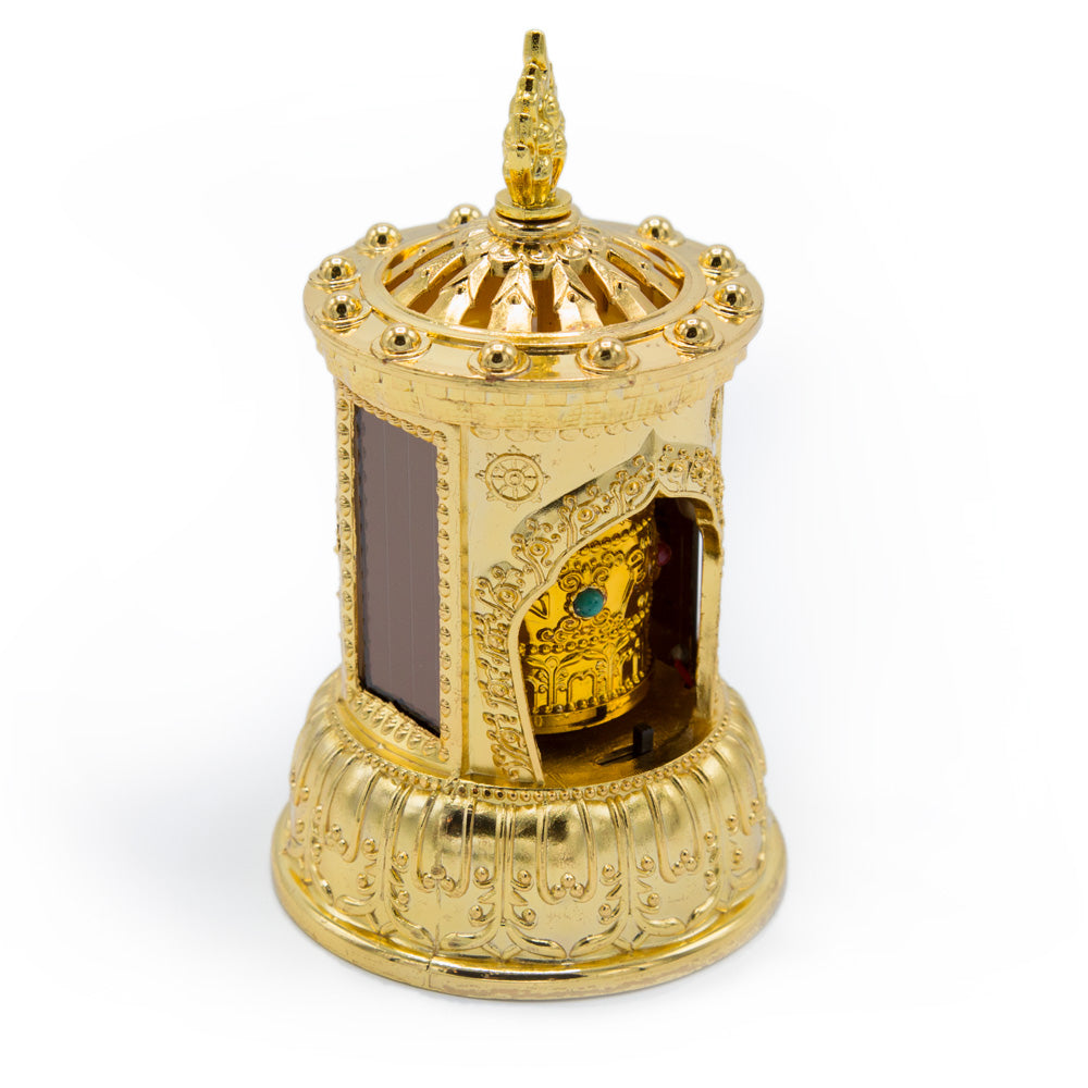 Solar Prayer Wheel