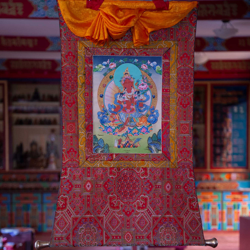 Specialty Red Tara Thangka - Small