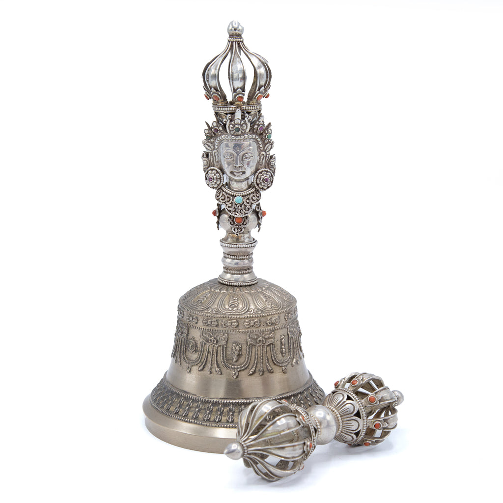 Sterling Silver Dorje and Bell
