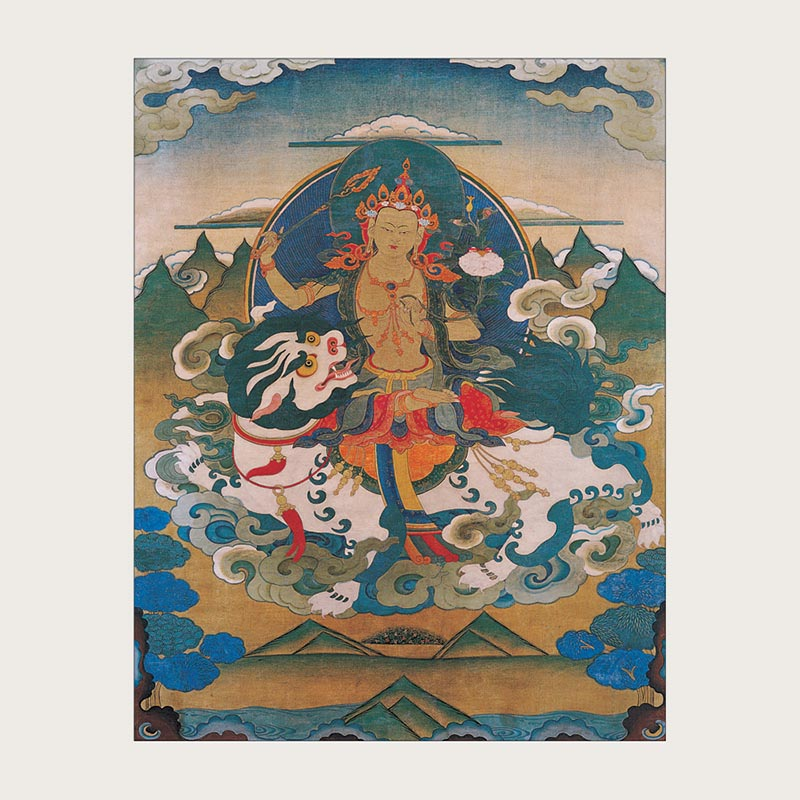 Manjushri Thangkas Boxed Notecards