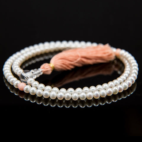 Freshwater Cultured Pearl Mala - 6mm