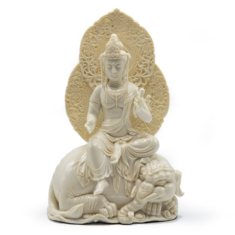 Samantabhadra - Cold Cast Resin 11""