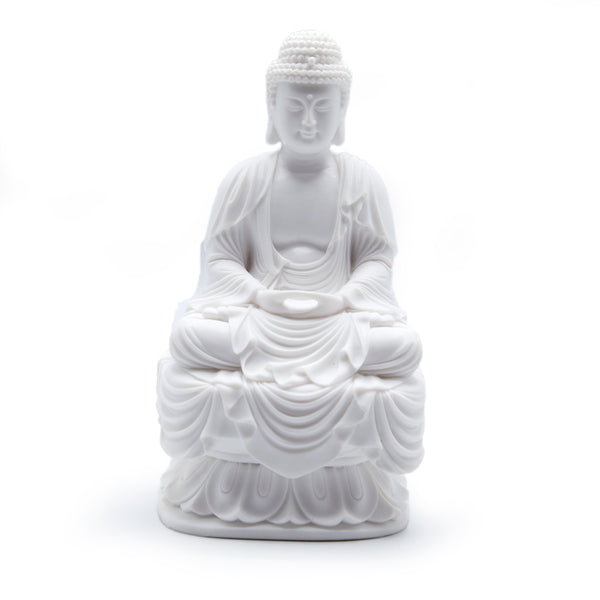 Small Buddha - Cold Cast Resin 7.25""