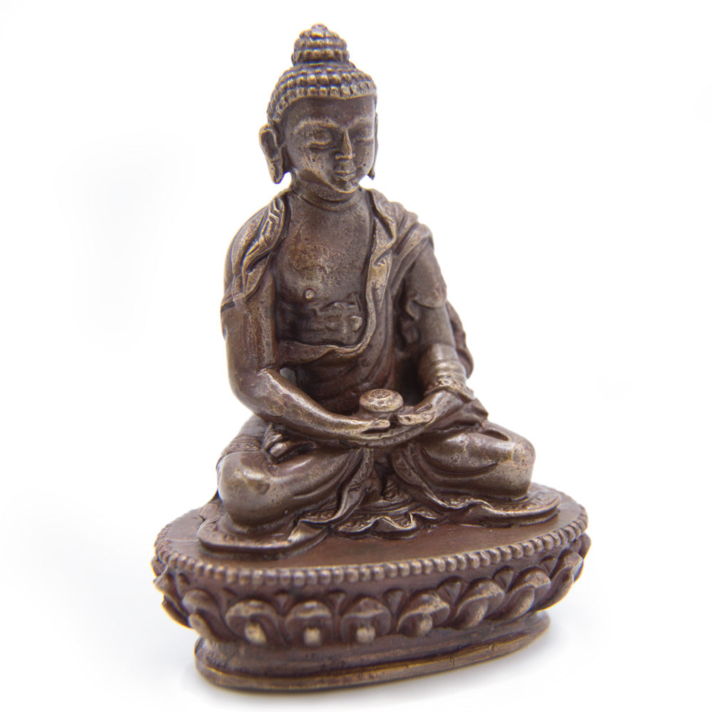 Amitabha Copper Statue - Mini