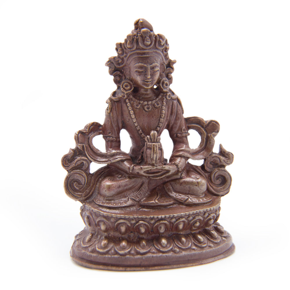 Amitayus Copper Statue - Mini