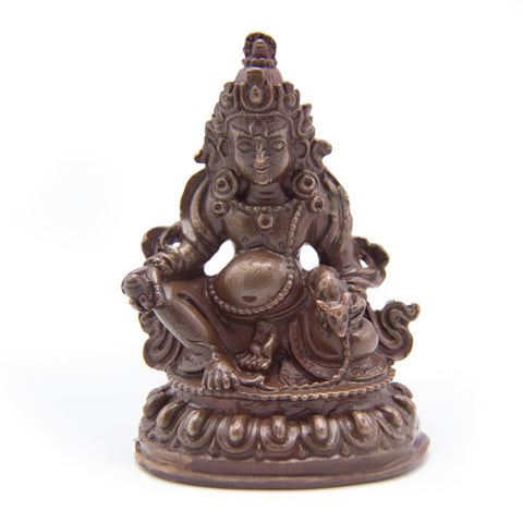 Dzambhala Copper Statue - mini