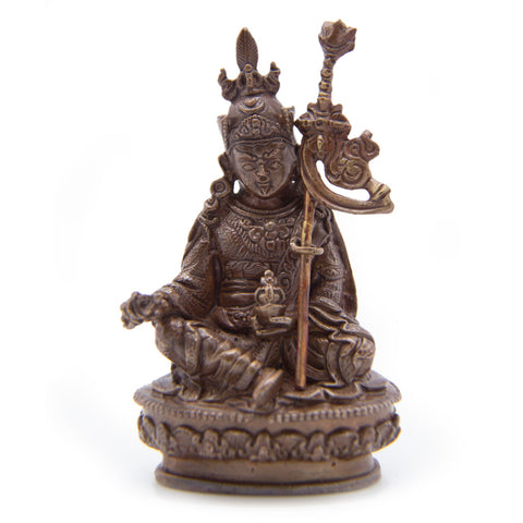 Guru Rinpoche Copper Statue - Mini