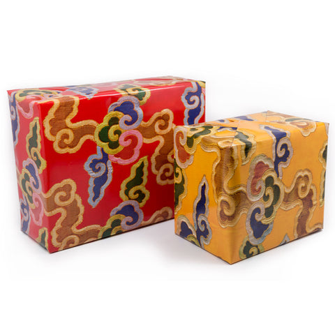 Brocade Cloud Wrapping Paper